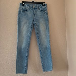 Light wash Boyfriend jeans from AE